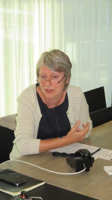 """Anne Malliet (Team Vlaams Bouwmeester): """"We moeten proberen aantonen dat het verder versnipperen en uitdijen van de agglomeratie een vorm van economische zelfmoord is."""""""