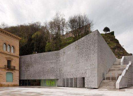 Nieto Sobejano, San Telmo Museum, San Sebastian