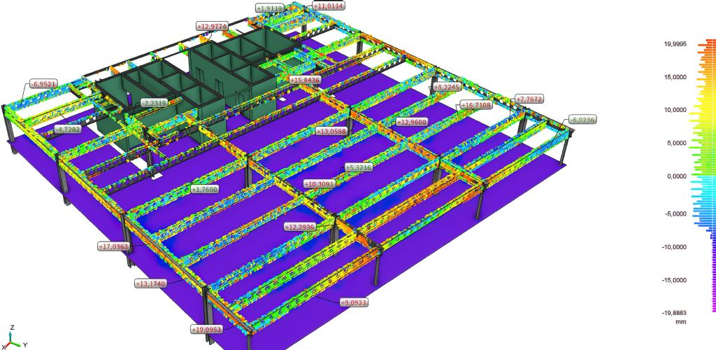 3D-scans vereenvoudigen kwaliteitscontrole op de bouwwerf
