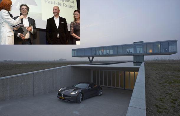 Villa Kogelhof, winnaar van de ARC13 Architectuur