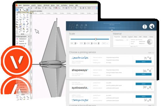 Nieuw in Vectorworks: een gratis plug-in voor 3D-printen