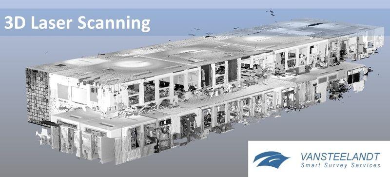 Het bedrijf Vansteelandt uit Deinze, opgericht in 1994, ontvangt en herwerkt op grote schaal geografische gegevens met behulp van verschillende technieken zoals puntenwolken.