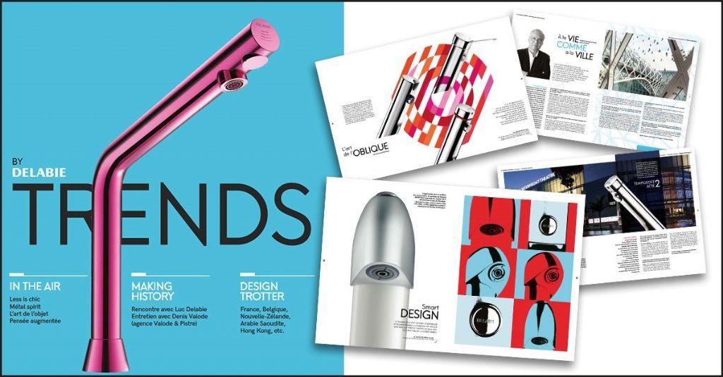 'Trends by DELABIE', un magazine pour les architectes et les passionnés de design