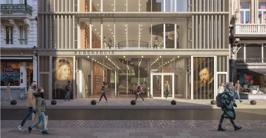 Rubenshuis kondigt nieuwe toekomstvisie aan met onthaalgebouw van Robbrecht en Daem architecten
