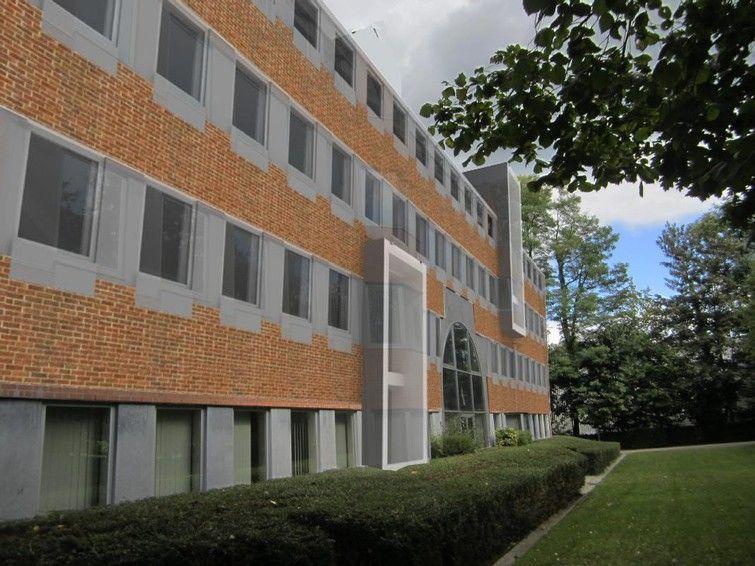 Le Mazerin, immeuble de bureaux rénové en mode cradle to cradle (Synergy International)