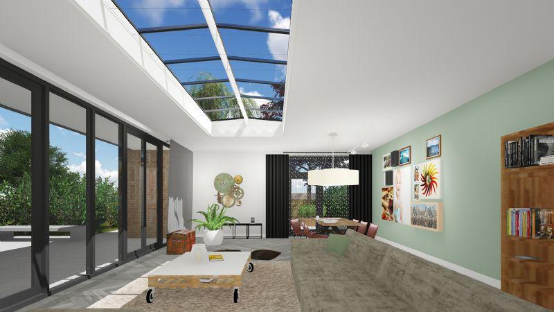 Luxlight verenigt dag- en kunstlicht in nieuw dakraam