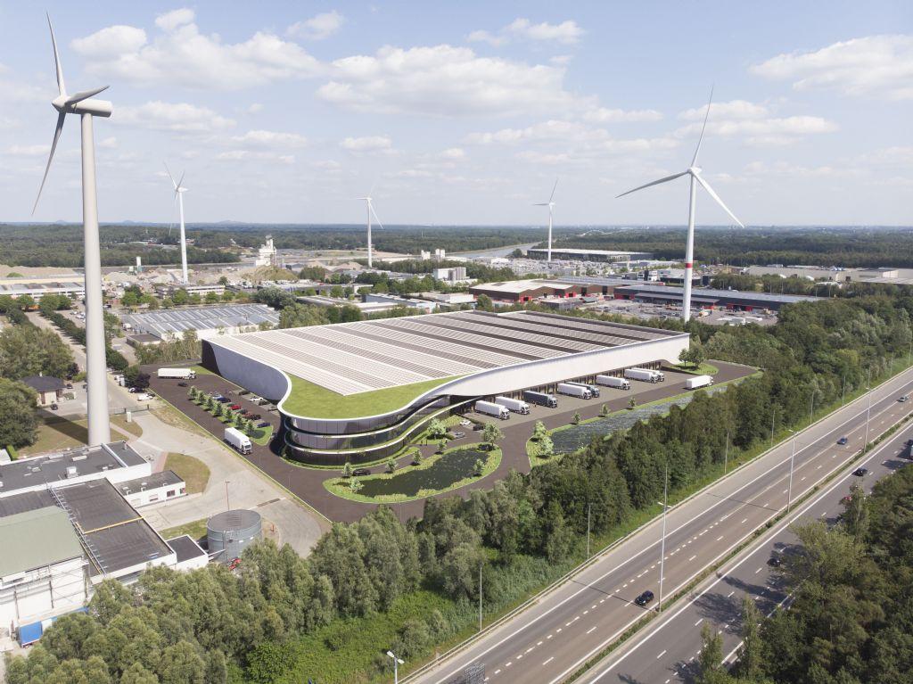 MaMu Industry & Offices en Montea realiseren eerste fossielvrije distributiecentrum van België