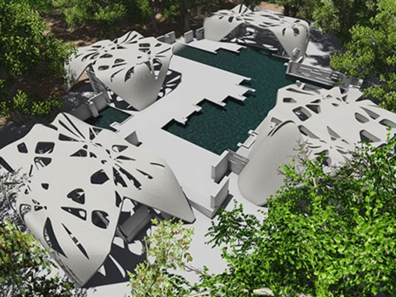 """""Architect Adam Kushner is set to build the first 3D-printed house in the U.S. """