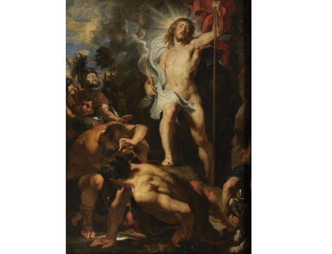 De Verrijzenis van Christus door Rubens.