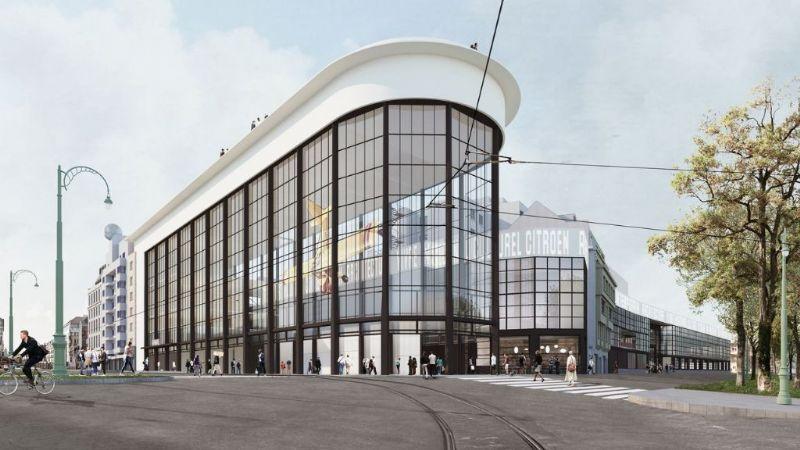 Brussels museum KANAL-Centre Pompidou heeft stedenbouwkundige vergunning beet