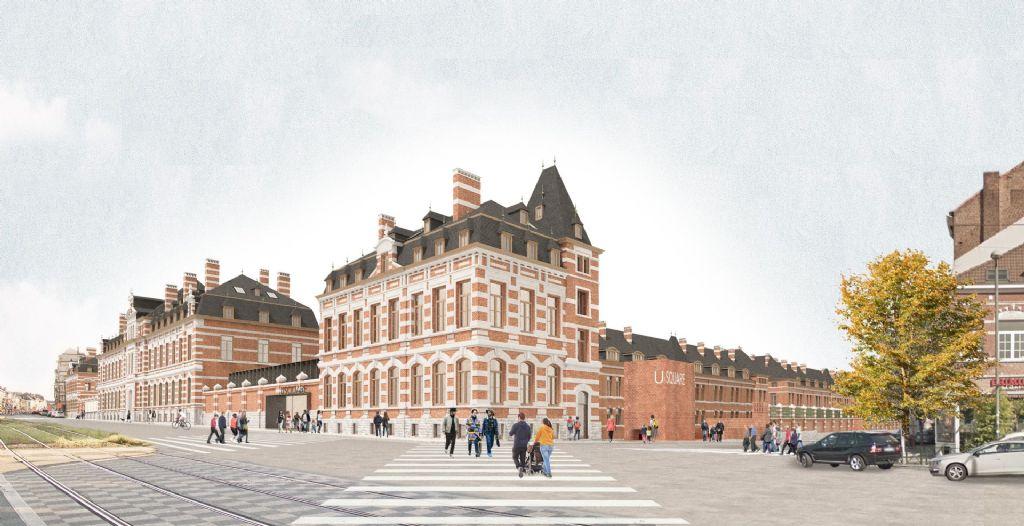 Usquare EFRO (rénovation et reconstruction de bâtiments), un des lauréats de la catégorie 'Public'.