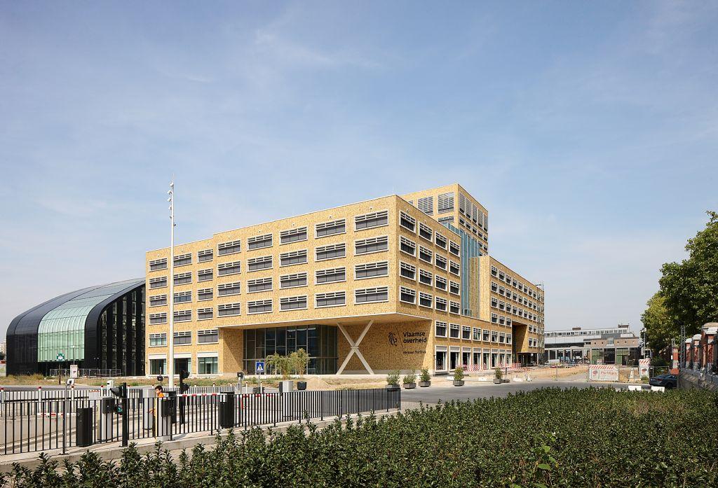 Het Herman Teirlinckgebouw in Brussel