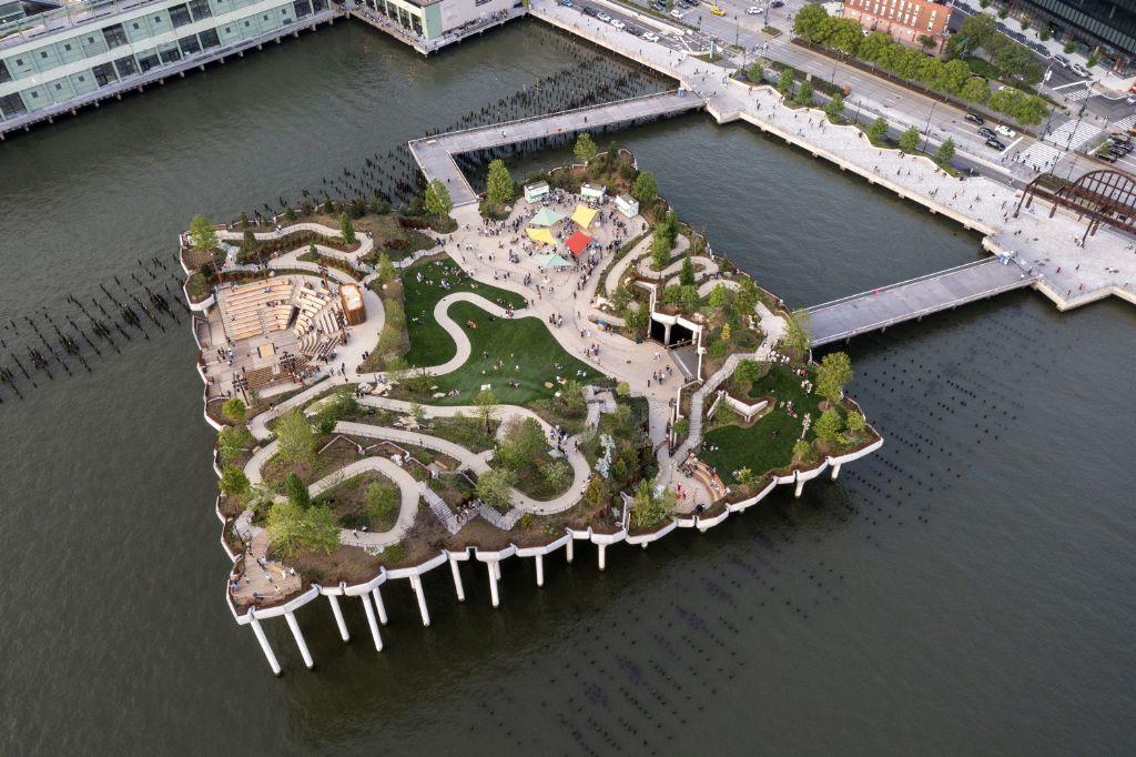 New York City krijgt park op het water van Heatherwick Studio