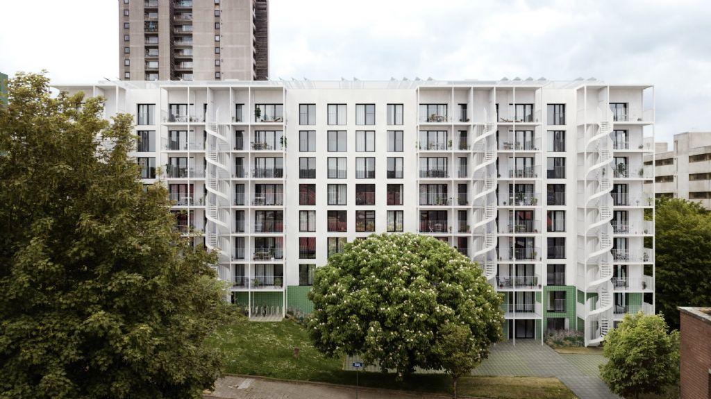Peterbos : deux immeubles bientôt en phase de rénovation lourde (Faidherbe & Pinto + Multiple)