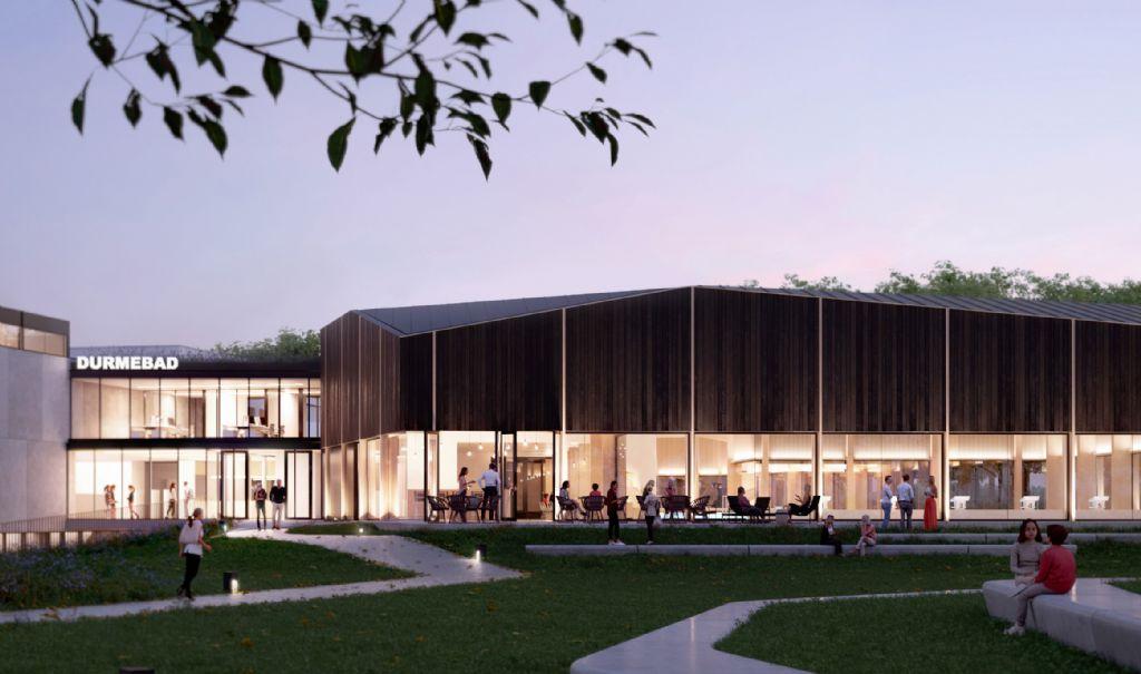 VenhoevenCS en B2Ai maken winnend ontwerp voor sluitstuk sportcomplex Lokeren