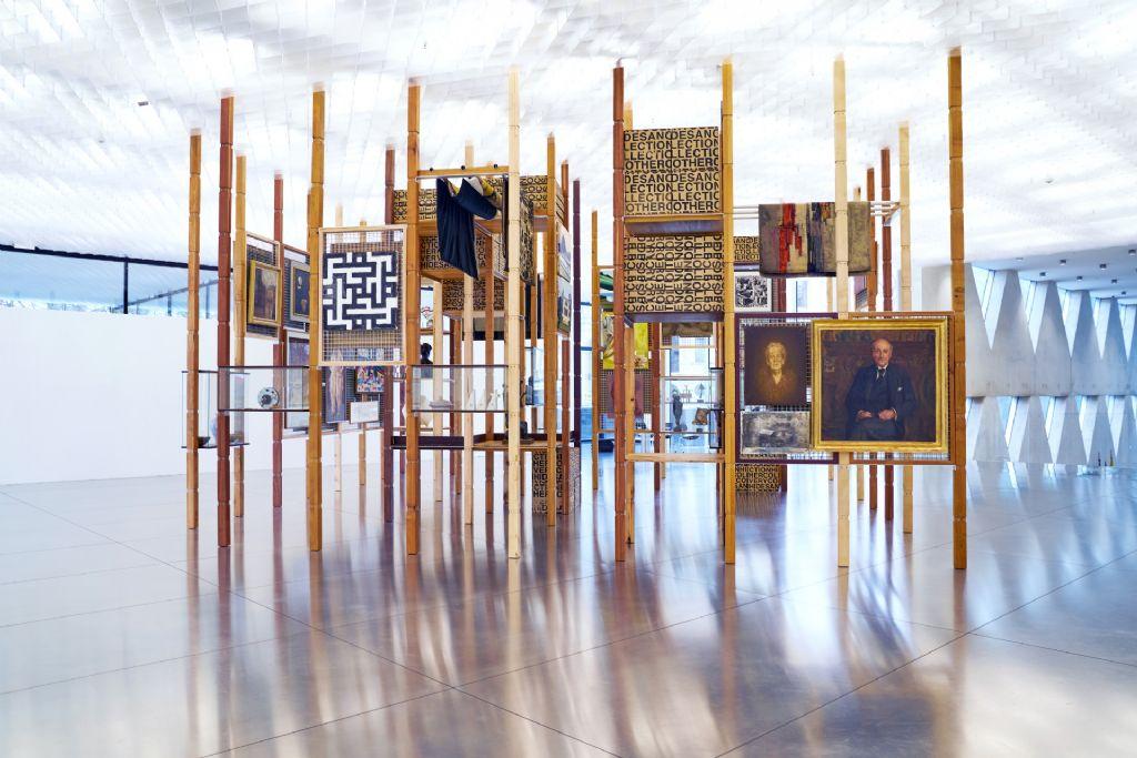 De provincie Antwerpen werd bekroond in de categorie kunstintegratie met het provinciehuis.