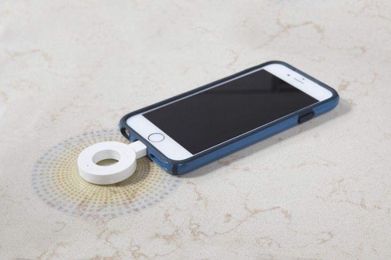 DuPont maakt van Coriangamma ook draadloze oplader voor smartphones en tablets