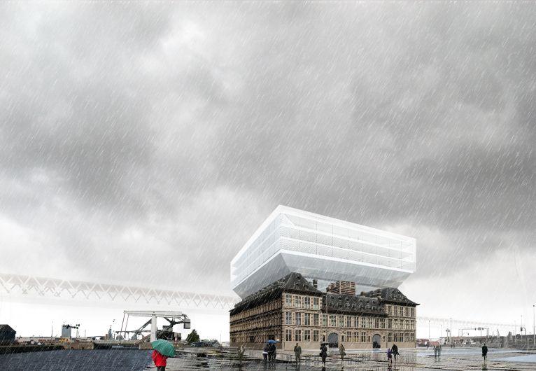 Net Niet: Havenhuis Antwerpen (a2o architecten)