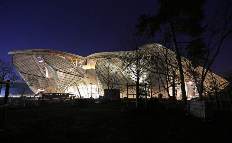 Fondation Louis Vuitton in Parijs.