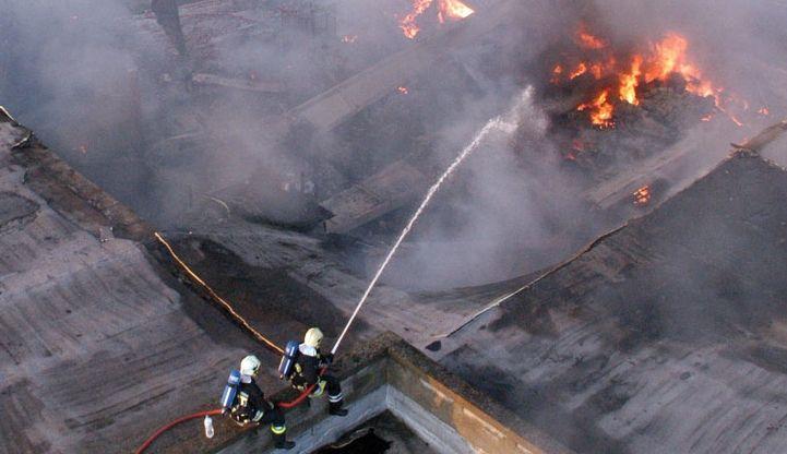 Brandgedrag van platte daken