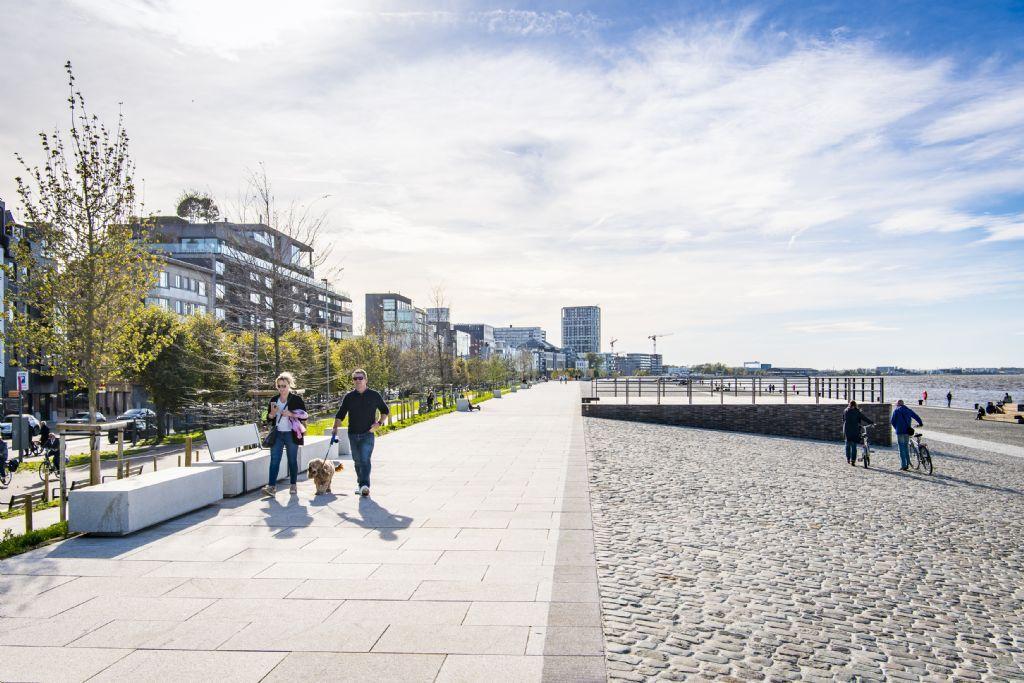 In 2020 ging de Prijs Publieke Ruimte naar de Scheldekaaien Sint-Andries en Zuid in Antwerpen (Sweco i.s.m. PROAP en WIT Architecten).