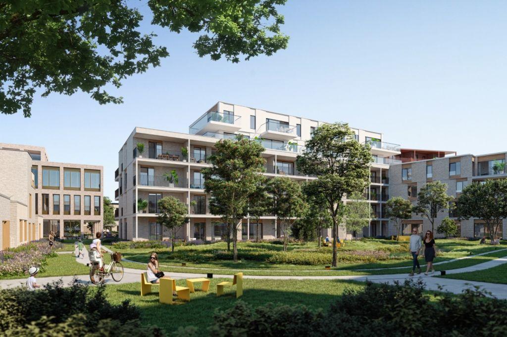 Verlaten ziekenhuissite in Oostende transformeert tot groene en bruisende plek Green C (B2Ai)