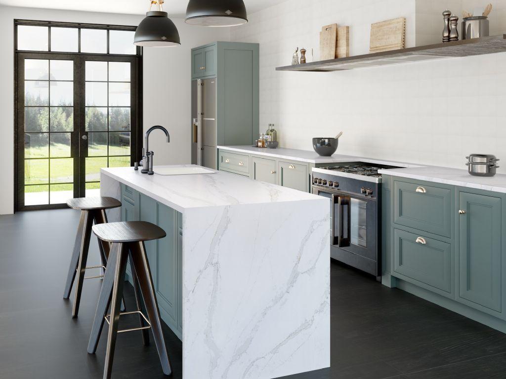 Geaderd design regeert in keukenland