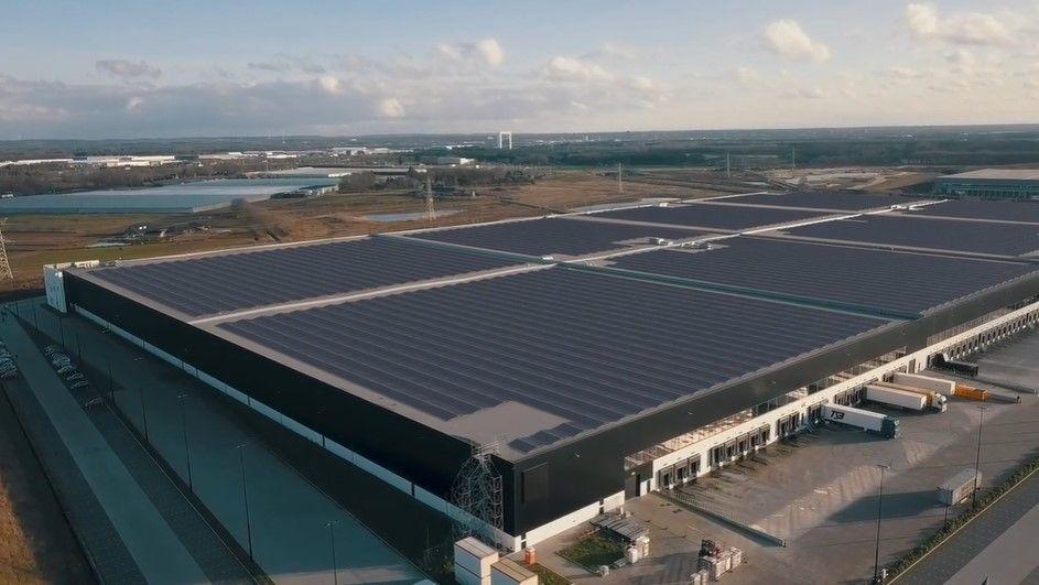 Le toit en panneaux solaires le plus puissant au monde