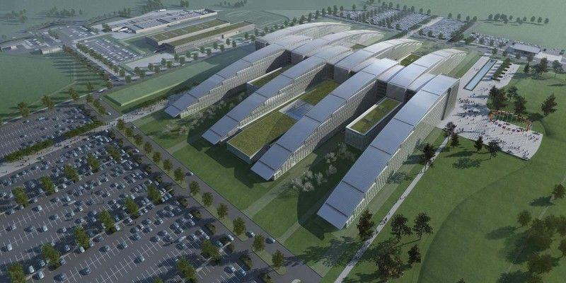 Bij de opstart van de werf van NATO heeft de Nederlandse aannemer BAM beslist om het gebouw in zijn geheel opnieuw te modelleren, om zo nog voor de start van de werken tot een perfecte coördinatie te komen. (Foto: ASSAR ARCHITECTS)