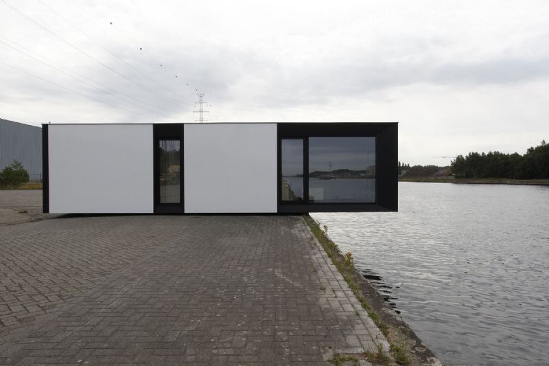 Skilpod Small Energy House Module: sociale woning of grootouders in de achtertuin