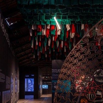 XY180 van Delta Light in het Italiaanse paviljoen op de Biënnale