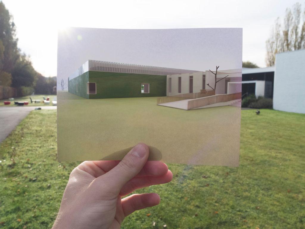 Museum Dhondt-Dhaenens, concept door Robbrecht & Daem architecten