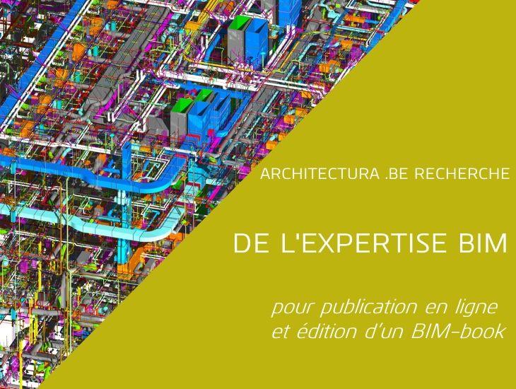 Architectura recherche : expertise BIM pour publication en ligne et édition d'un BIM-book