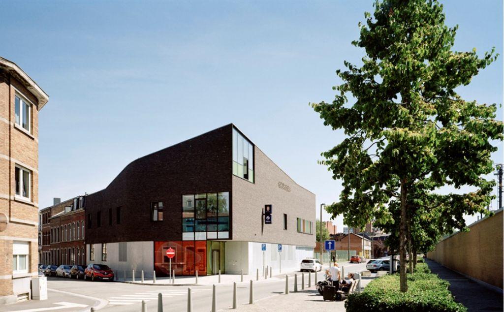 Prix du Projet Public : Commissariat de police Guillemins (Atelier d'Architecture Daniel Delgoffe)