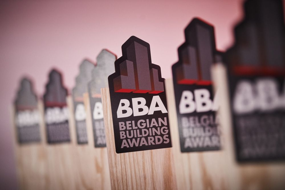 RAAMWERK bekroond met Belgian Building Award 2021 in categorie 3-2-1 Façade, eervolle vermelding voor Label Architecture