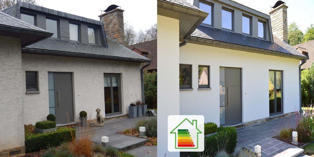 Isoler les façades extérieures pour atteindre un meilleur score PEB