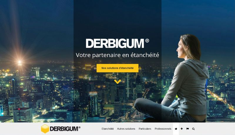 Derbigum lanceert een nieuwe website op maat van de bezoeker