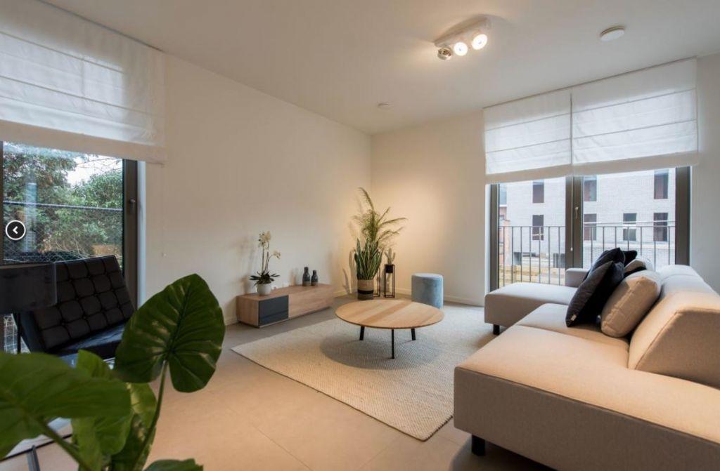 Elk appartement werd voorzien van een ventilatie-unit DII, type 275, een toestel dat gezondheid, comfort én besparing meer dan ooit verenigt.