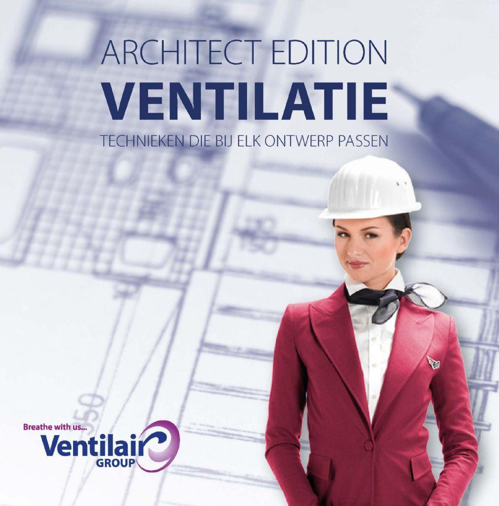 Ventilair Group Belgium brengt brochure uit voor architecten