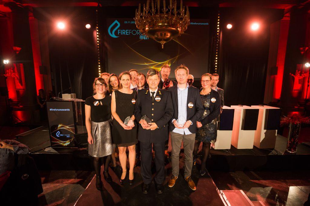 FESG in de prijzen op Fireforum Awards 2017