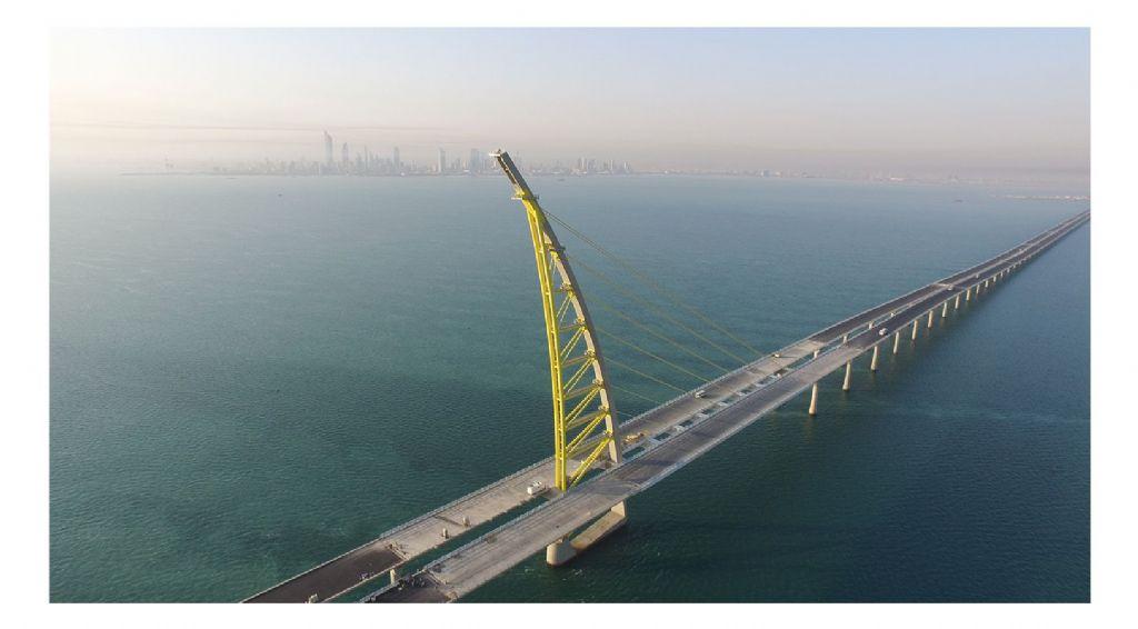 Le Sheikh Jaber Al-Ahmad Al-Sabah, le plus long pont maritime du monde