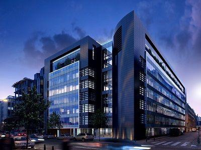 """""""Black Pearl"""" : immeuble passif de bureaux à Bruxelles, par Art & Build Architect"""