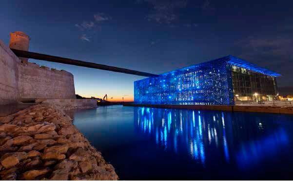 MuCEM in Marseille, architect: Rudy Ricciotti. (Foto: Yann Kersalé - AIK)