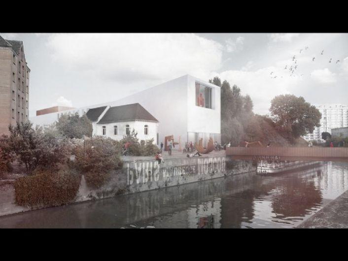 Net niet: Tijdelijk Centre Pompidou (Atelier Pierre Hebbelinck en Pierre De Wit)