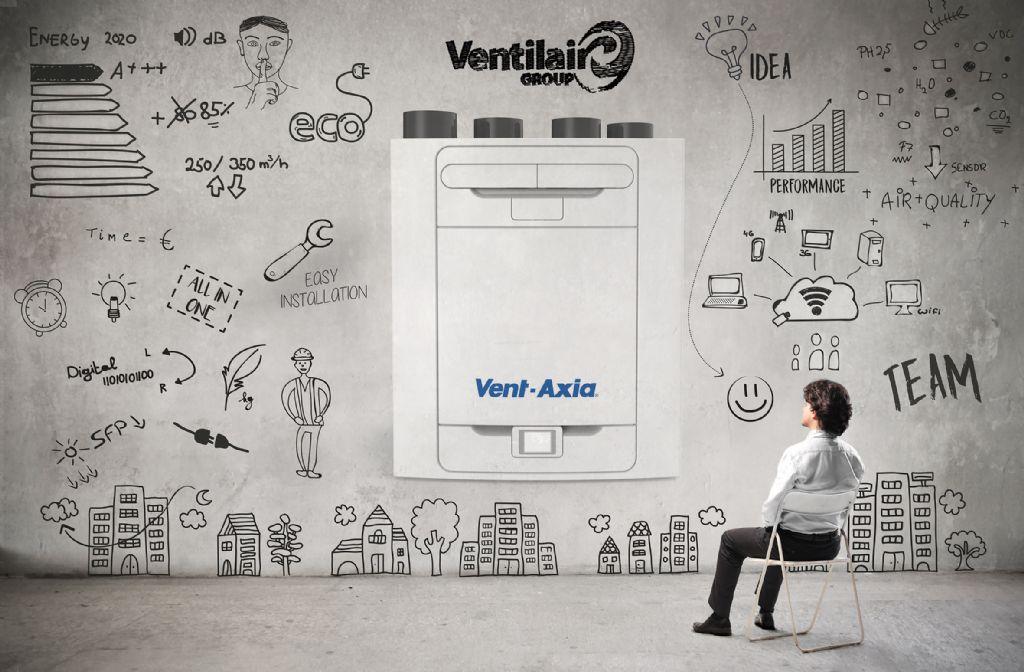 Ventilair Group lance une nouvelle unité avec récupération de chaleur