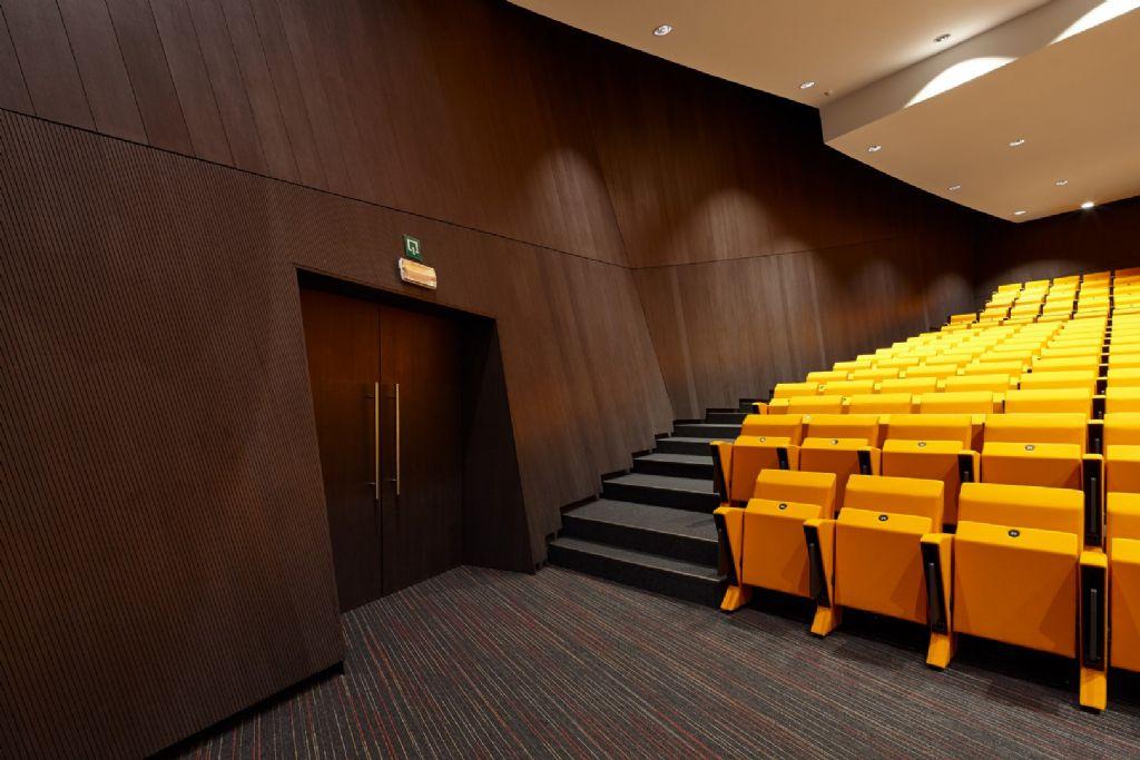 Het auditorium van International Congres Xperience in Mons.