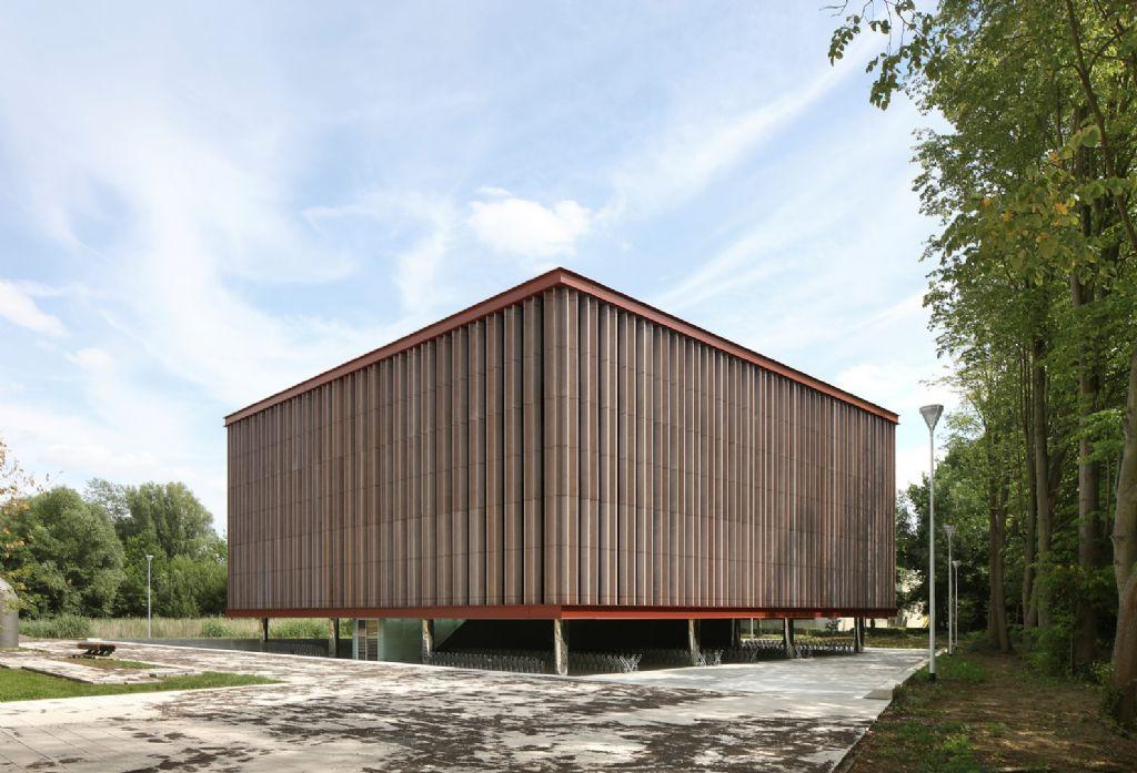 Onderwijsgebouw M versterkt de wetenschapscampus Universiteit Antwerpen