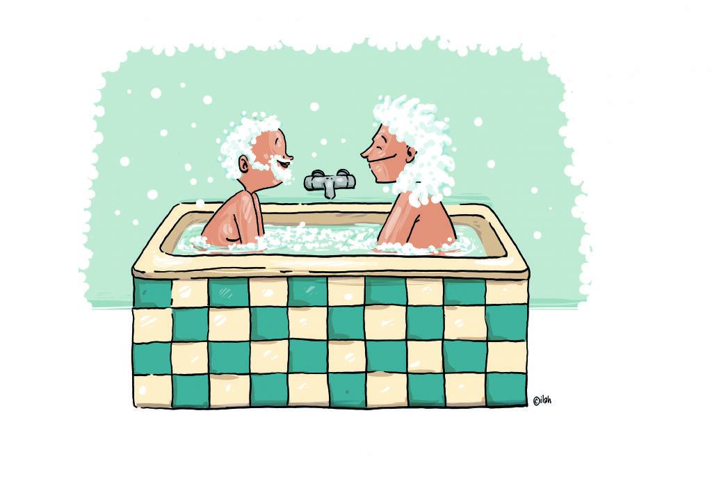 Que se passe-t-il dans la salle de bains des Belges ?