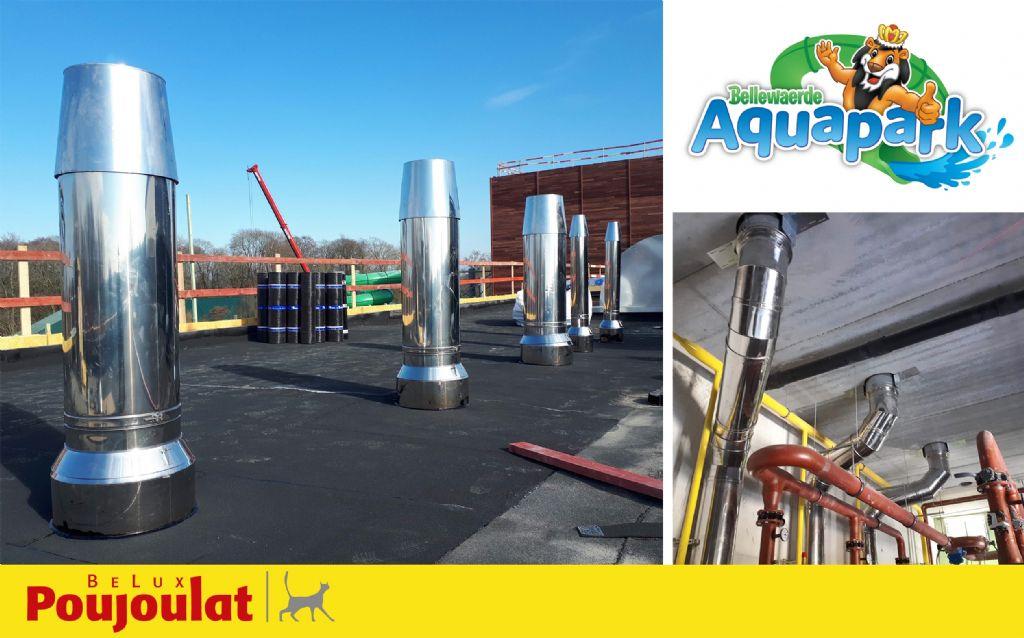 Schouwen van Poujoulat voor nieuwe Bellewaerde Aquapark