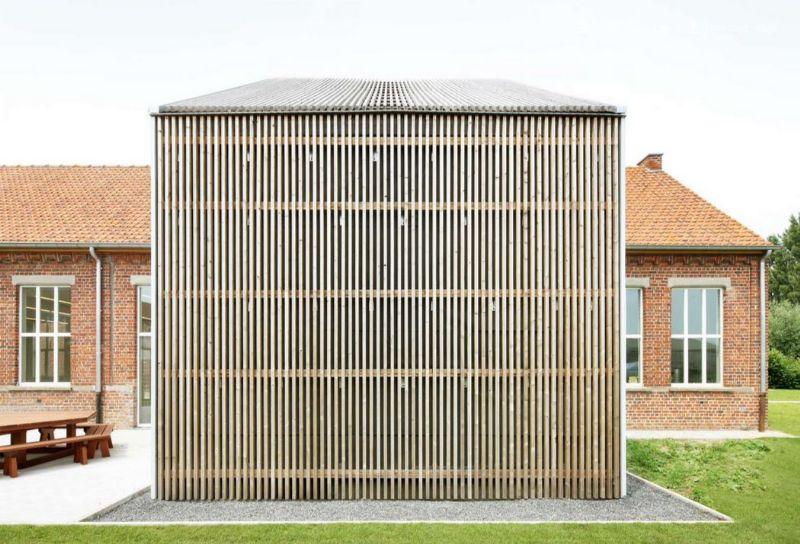 Atelier Tom Vanhee besteedde ruime aandacht aan de toegankelijkheid van het gebouw.